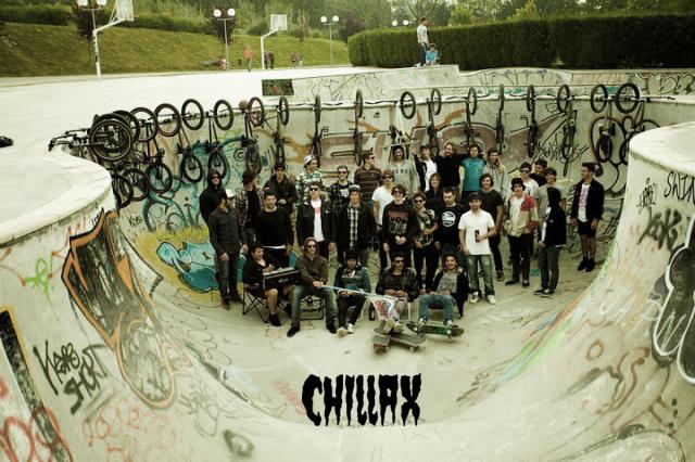 Le crew Chillax'