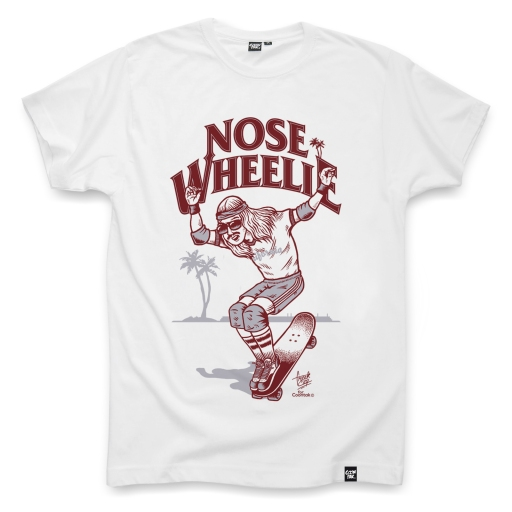 NOSE-WHEELIE